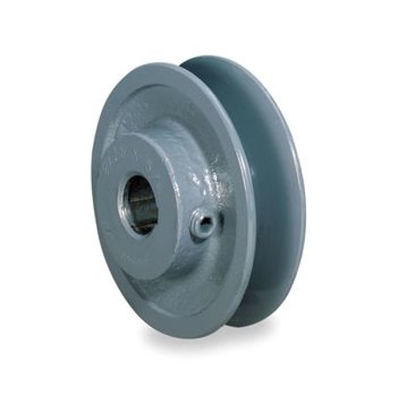 """2.8"""" X 7/8"""" Single Groove Fixed Bore """"A"""" Pulley # AK28X7/8"""
