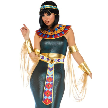 Cleopatra Dance Costume (Leg Avenue Women's 4 PC Cleopatra Costume, Multi,)