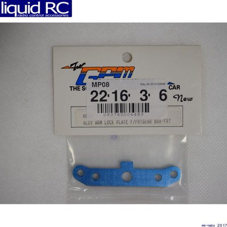 Mp5 Front (GPM Racing MP08 Kyosho Mp5 Aluminum Front Gear Box Lower Hinge Pin Lock )