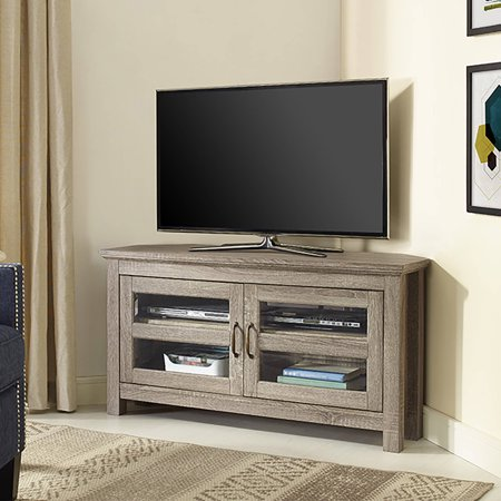 Driftwood Corner Tv Stand For Tvs Up To 48 Quot Walmart Com