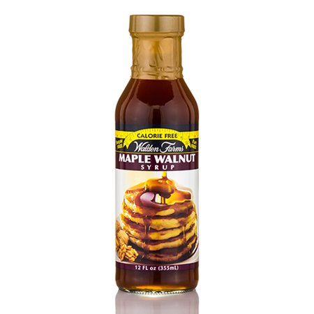 Maple Walnut Pancake Syrup - 12 fl. oz (355 ml) by Walden Farms