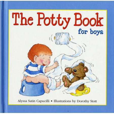 Potty Book for Boys](Present For 4 Year Old Boy)