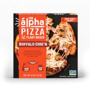 Alpha Foods Buffalo Chik'n Pizza, Vegan, Non GMO, 6 oz