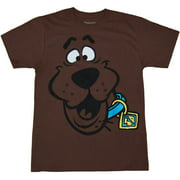 Scooby Doo Face Adult T-Shirt
