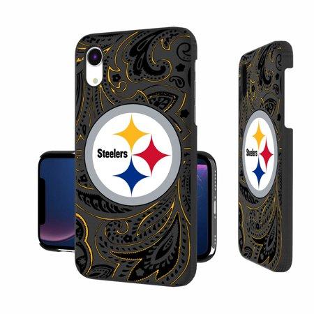 Pittsburgh Steelers iPhone Slim Paisley Design Case