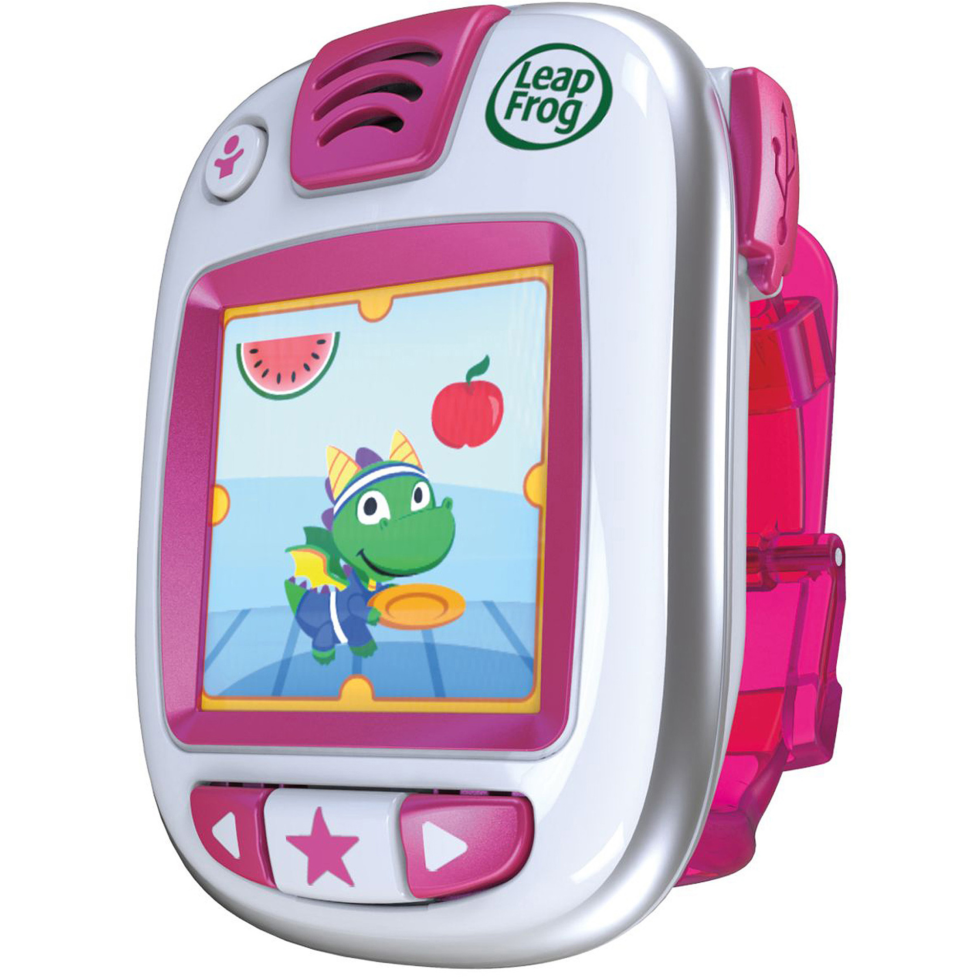 LeapFrog LeapBand in Green Pink or Blue Walmart