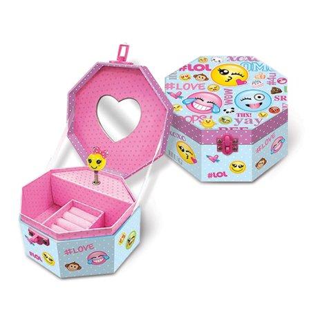 Children's Musical Emoji Jewelry Box