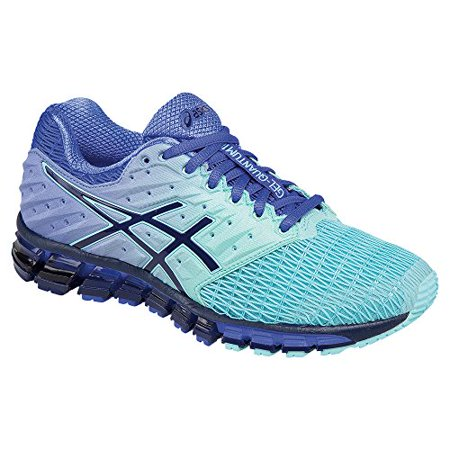 ASICS Women's Gel-Quantum 180 2 Running Shoe (Aruba Blue/Blue Print/