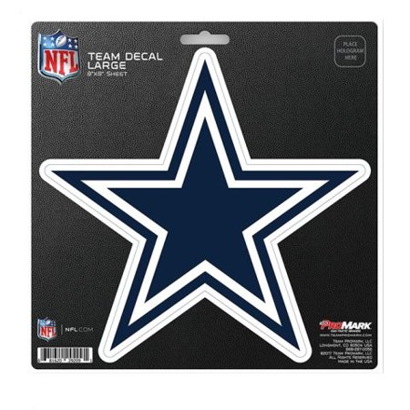 Dallas Cowboys Large Die Cut Team Decal for $<!---->