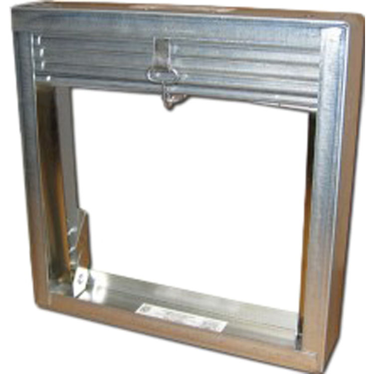 """Shoemaker 2502 36""""x8"""" Thin-line Frame 1 ½ Hour Curtain-Type Spring-Actuated Fire Damper"""
