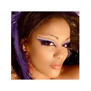 Diva Xotic Eyes Purple Eye Glitter Jewels Professional Eye Make Up