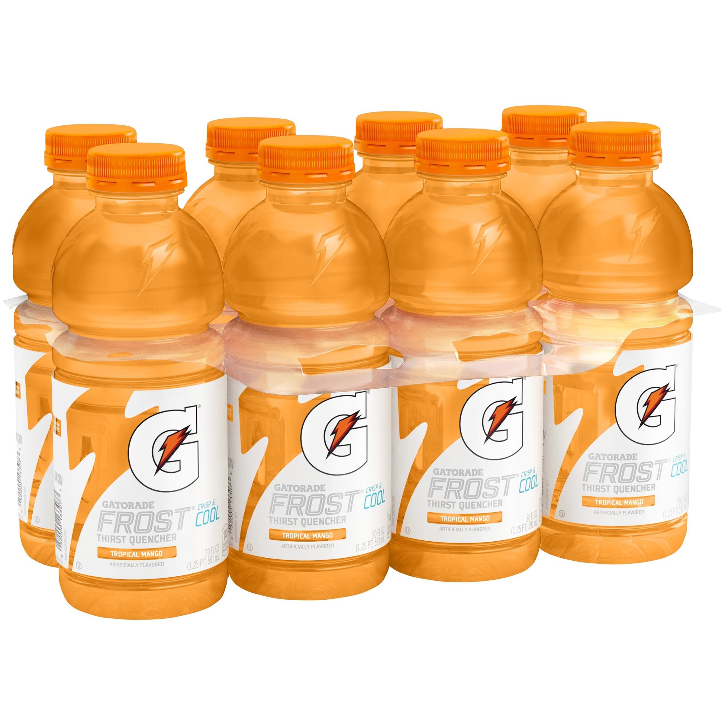 Gatorade G Series Perform A.M. Tropical Mango Sports Drink, 20 oz