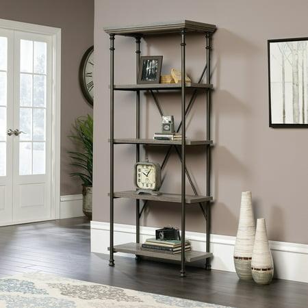Sauder Canal Street 5 Shelf Bookcase (Canal Street Stores)