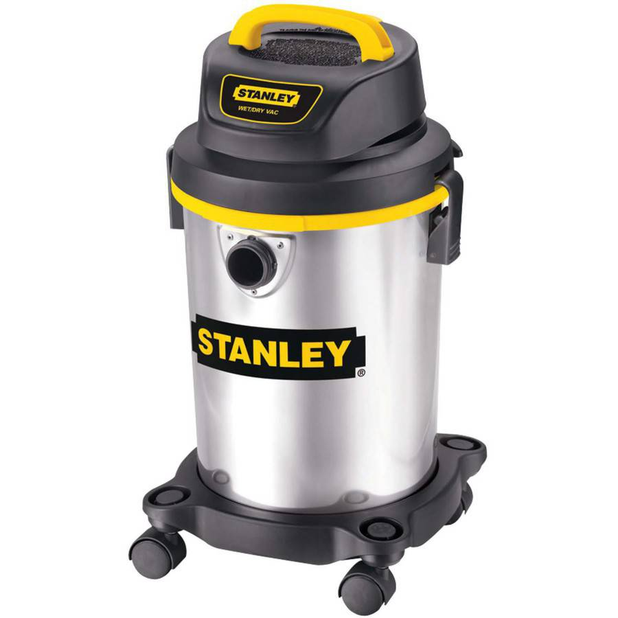 Stanley SL18129 4-Gallon Stainless Steel Wet/Dry Vacuum