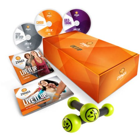 Zumba Gold LIVE IT UP DVD System
