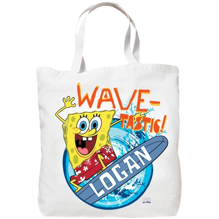 Personalized SpongeBob SquarePants Wave-Tastic Tote Bag