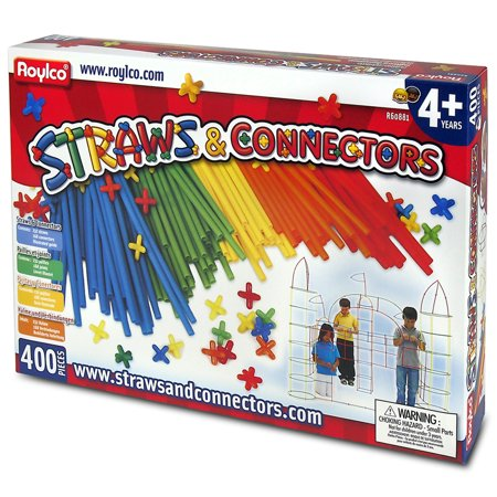 Straw Connectors (Straws and Connectors, 400-Piece)