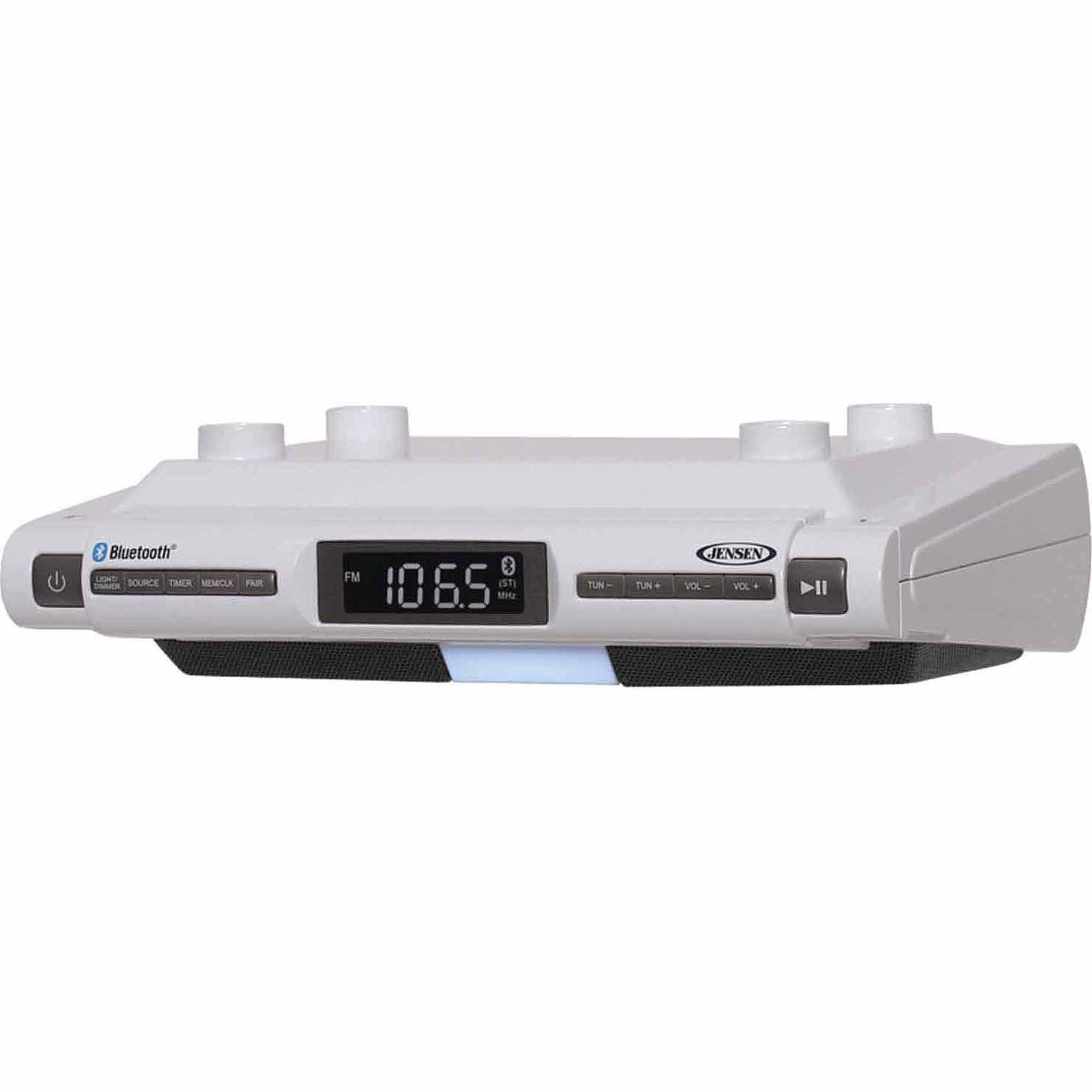 Sistema de música Bluetooth Universal Jensen del debajo-gabinete SMPS-628 + Jensen en Veo y Compro