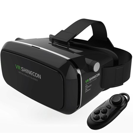 Virtual Reality 3D Glasses Bt Control For 4 7 6  Phone