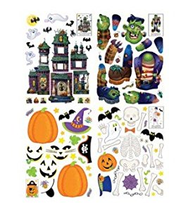 Impact Innovations Window Build A Cling Halloween Decorat...