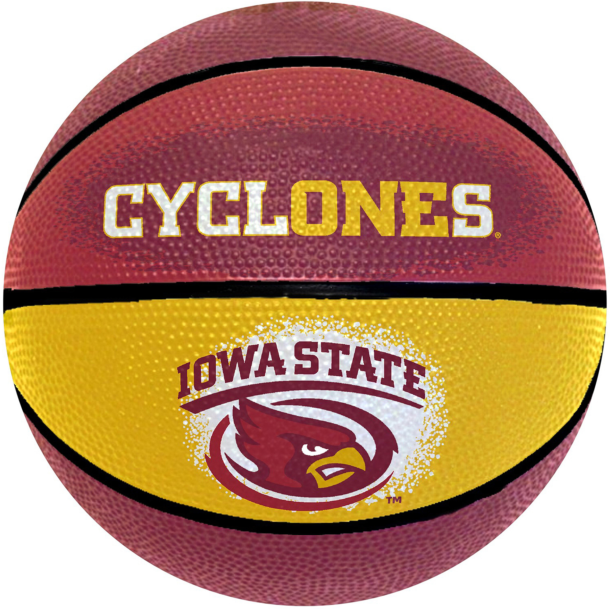 "Game Master NCAA 7"" Mini Basketball, Iowa State Cyclones"