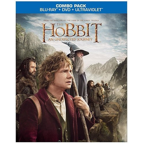 The Hobbit: An Unexpected Journey (Blu-ray + DVD + Digital HD With UltraViolet) (With INSTAWATCH)