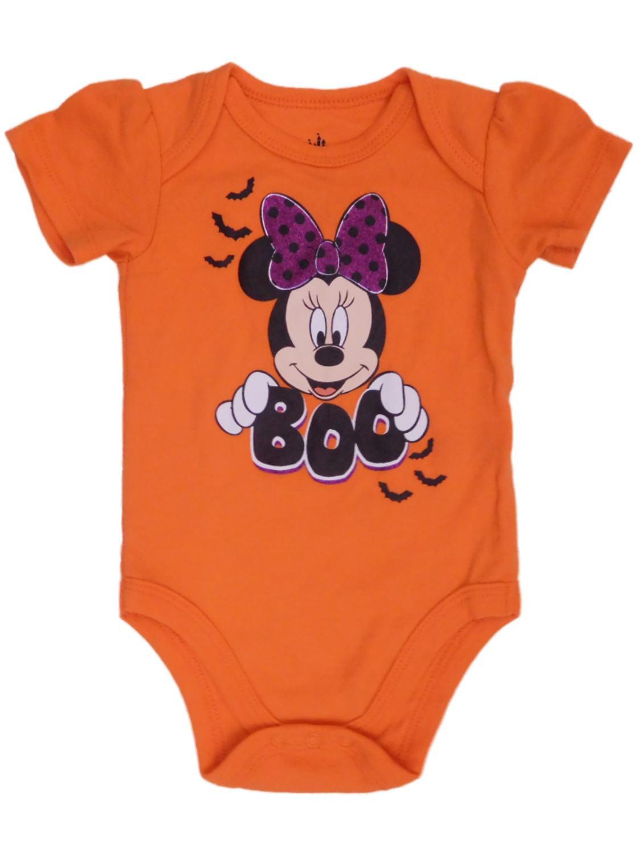 Girls Orange Infant Creeper