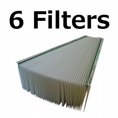 6-pack aprilaire space-gard air filter replacement for 201 model ...
