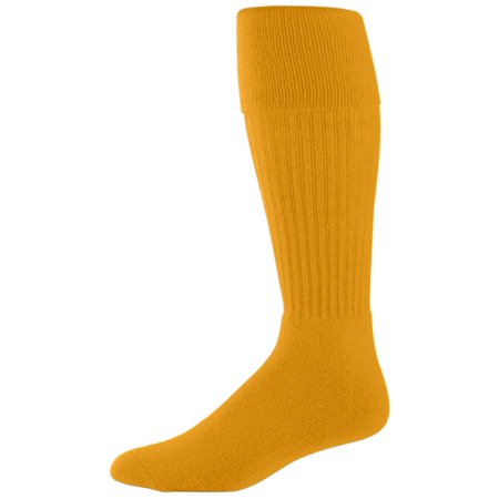 Augusta Sportswear Men's Knee-length Soccer Sock, Gold, (Baseball Sock Assortment)