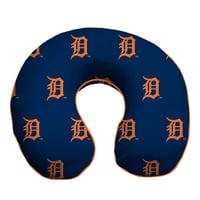 Detroit Tigers Memory Foam Travel Pillow - Blue