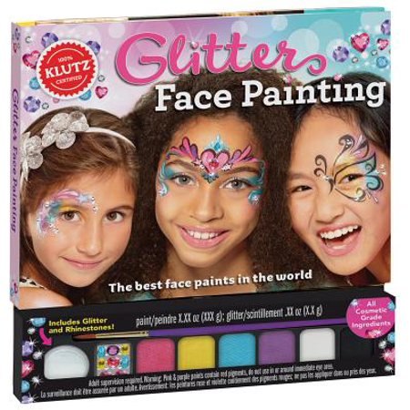 Face Painting Vampire Ideas (Glitter Face Painting)