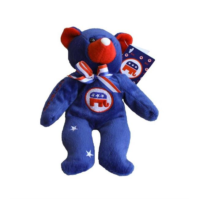 Encore Select  Inc. nov-repubbear 8 Stars and Stripes Republican Bean Bag Bear