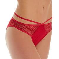 Women's Pour Moi 12103 Contradiction Illicit Open Back Brief Panty