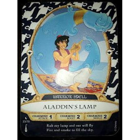 Sorcerers Mask of the Magic Kingdom Game, Walt Disney World - Card #23 - Aladdin's Lamp - image 1 of 1