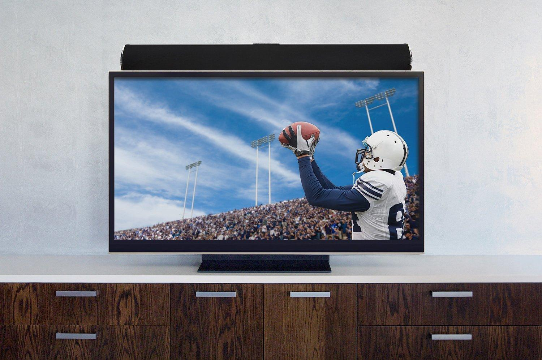 Universal Sound Bar Soundbar Speaker Bracket Mount Above Below TV Adjustable
