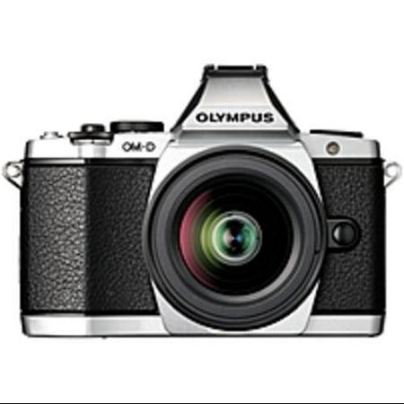 Olympus OM-D EM-5 - Digital camera - mirrorless - 16.1 MP - Four Thirds - 1080p - 4x optical zoom M.Zuiko Digital 12-50mm lens -
