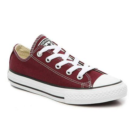 Converse Kids  Chuck Taylor All Star OX Low Top Little Kid Burgundy Kids  Shoes 10.5 Little Kid M - Walmart.com ce5120e61