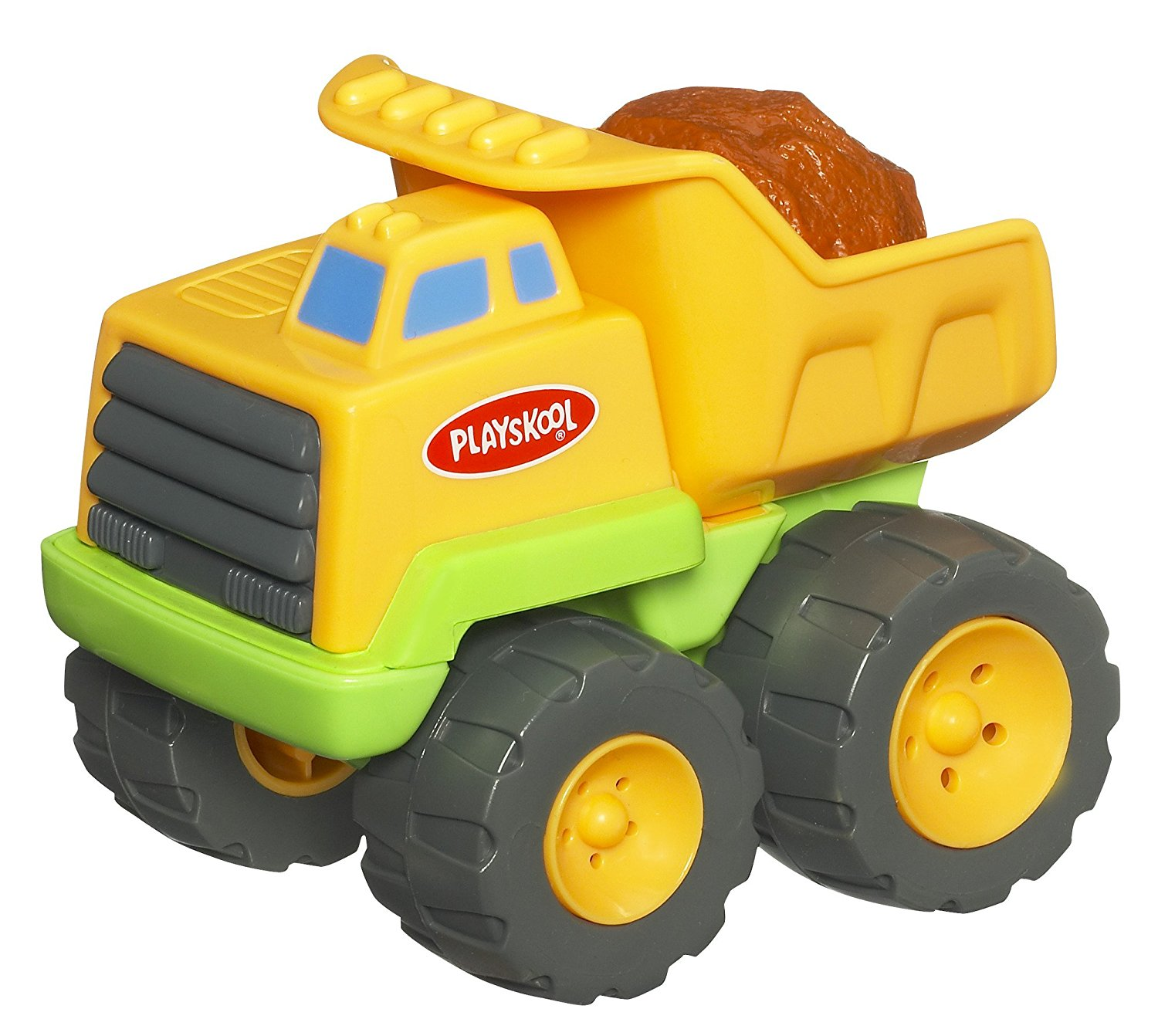 Play Favorites Rumblin Dump, Colorful dump truck vehicle rrrr-rumbles when you pull the... by