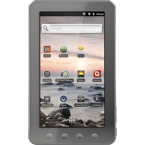 "7"" KYROS Android 2.3 Tablet with Multi-Touch 16:9 Widescreen (Capacitive)"