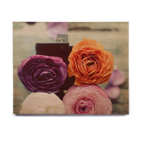 East Urban Home Roses 'Four Kinds of Beauty' Graphic Art Print on Wood