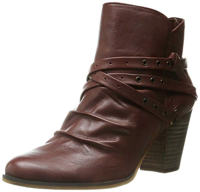 Bella Vita Women's Kiki Boot Dark Tan Leather by