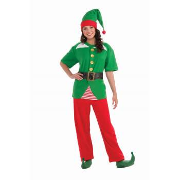 CO-JOLLY ELF (Jolly Green Santa's Helper Christmas Costumes)