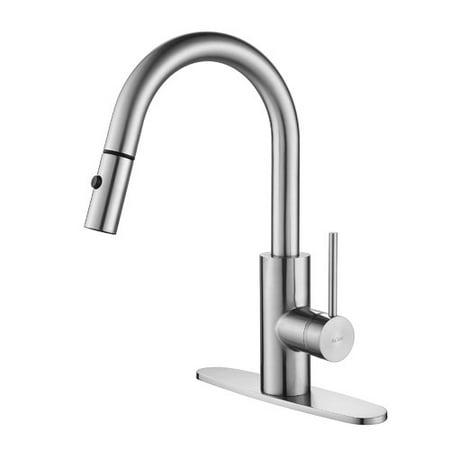 Kraus Nickel Pull Down Faucet Nickel Kraus Pull Down Faucet