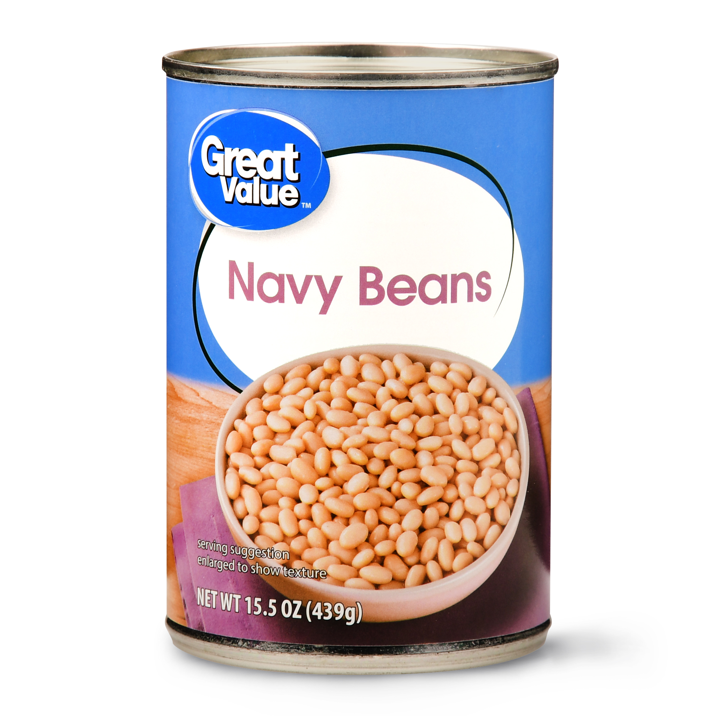 Great Value Navy Beans, 15.5 oz
