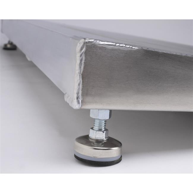 Prairie View Industries 12 in x 36 in Adjustable Threshold Wheelchair Ramp 800 lb. Weight Capacity  1 in - 2 in Rise