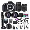 Canon EOS Rebel 1300D /T6 18MP DSLR Camera EF-S18-55mm + 75-300mm Accessory Kit Canon EOS Rebel 1300D /T6 18MP DSLR Camera EF-S18-55mm + 75-300mm Accessory Kit