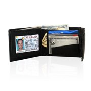 Leather Bifold Safe Wallet