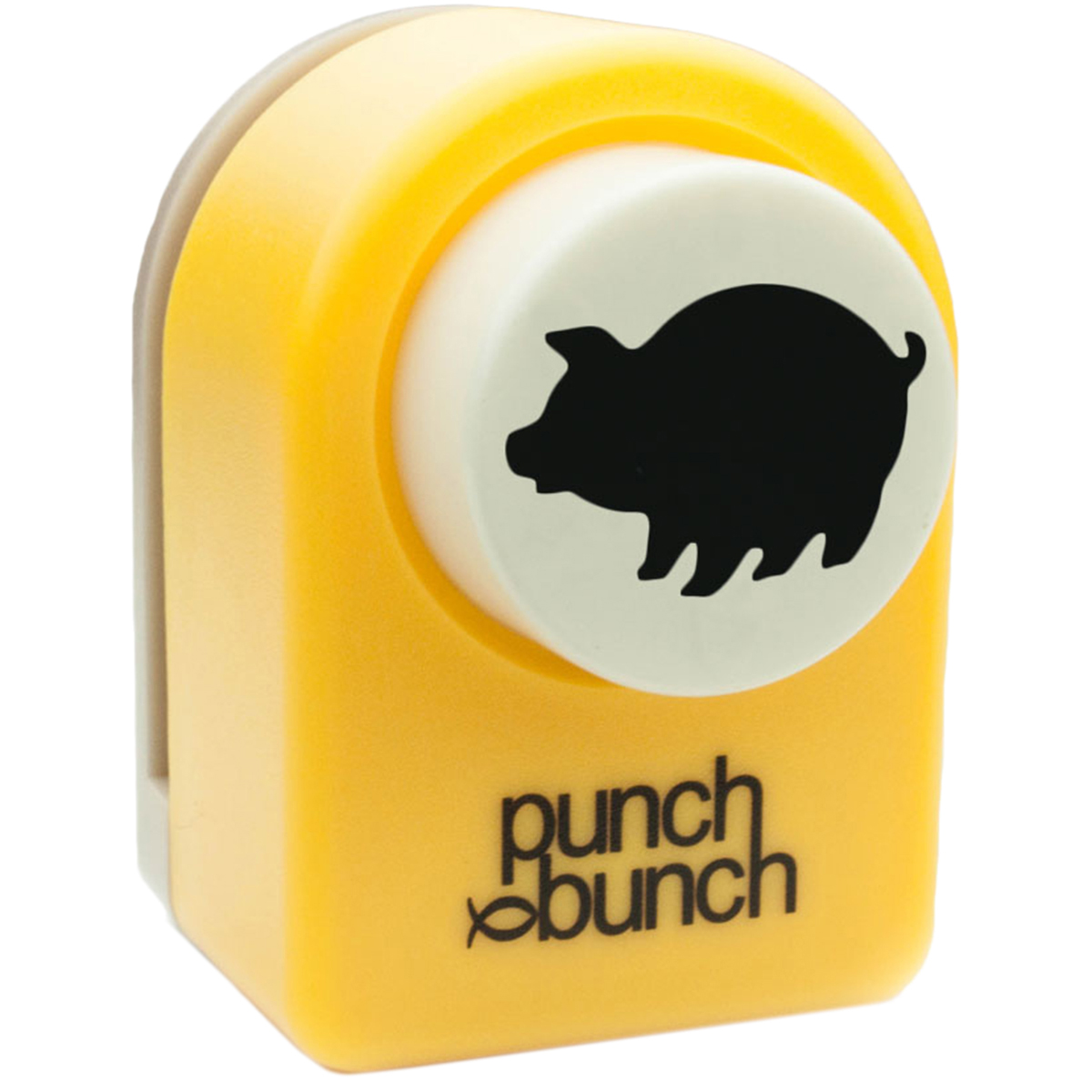 "Punch Bunch Medium Punch Approx. 1""-Pig"