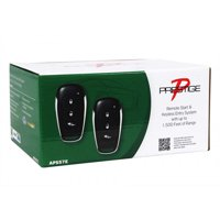 Audiovox APS57 APS57E Advanced remote start and keyless entry system