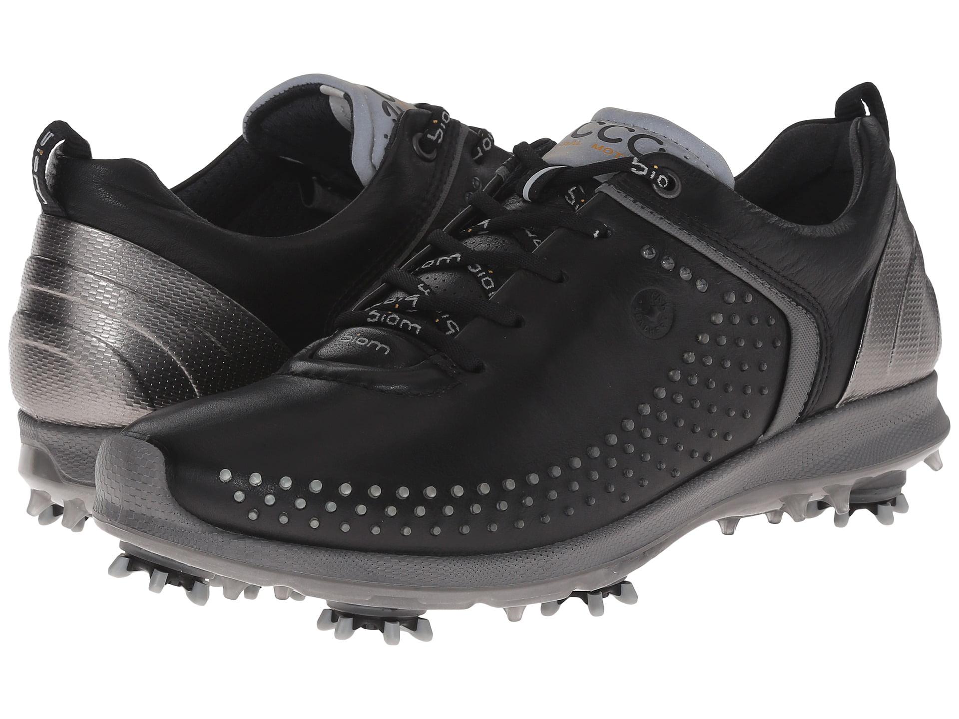 ECCO Men's Biom G2 Golf Shoes Black Transparent (43.0 EU   9-9.5M US) by